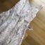เดรสเกาหลี พร้อมส่ง เดรสผ้าลูกไม้ ปักลายดอกไม้ thumbnail 16