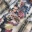 เดรสเกาหลี พร้อมส่ง เดรสผ้าลูกไม้ ทอลายดอกไม้ thumbnail 13