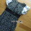 พร้อมส่ง เดรสผ้าลูกไม้ทอลายดอกเดซี่แขนระบาย thumbnail 8