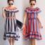 ชุดเดรสเกาหลี พร้อมส่ง Dress ใส่เป็นเปิดไหล่ thumbnail 1