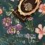 เดรสเกาหลี พร้อมส่ง ชุดเดรสยาว พิมพ์ลายดอกไม้ thumbnail 8