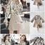 เสื้อผ้าเกาหลี พร้อมส่ง เสื้อพิมพ์ลายดอกไม้เก๋ๆ thumbnail 3