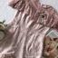 เสื้อผ้าเกาหลี พร้อมส่ง จั้มสูท ขาสั้นเนื้อผ้าทอลายลูกไม้ thumbnail 19