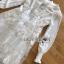 เดรสเกาหลี พร้อมส่ง เดรสผ้าชีฟอง สีขาว thumbnail 10