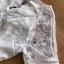ชุดเดรสเกาหลี พร้อมส่ง เดรสผ้าลูกไม้ ทรงแขนสั้นติดกระดุม thumbnail 13