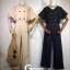 เสื้อผ้าเกาหลี พร้อมส่ง จั้มสูท ขายาว คอวี thumbnail 14