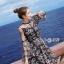 เดรสเกาหลี พร้อมส่ง Dress ชุดกระโปรงลวดลายดาว thumbnail 3