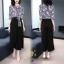 เดรสเกาหลี พร้อมส่ง ชุดเดรส ผ้าสวยมาก ผ้าพริ้ว thumbnail 11
