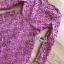 เดรสผ้าลูกไม้ พร้อมส่ง เดรสลูกไม้ สีชมพูเข้ม thumbnail 18