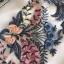 เดรสเกาหลี พร้อมส่ง เดรสผ้าลูกไม้ ทอลายดอกไม้ thumbnail 14