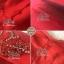 ชุดเดรสเกาหลี พร้อมส่ง เดรสออกงาน เนื้อผ้าsilkสีแดงสวย thumbnail 6