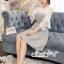 เดรสเกาหลี พร้อมส่ง Mini dress ลายตาราง Scott thumbnail 11