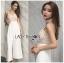 เสื้อผ้าเกาหลี พร้อมส่ง จั้มสูท สายหนาทรงหัวใจ thumbnail 3