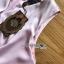 เสื้อผ้าเกาหลี พร้อมส่ง จัมป์สูท ทรงขาบานสีชมพูอ่อน thumbnail 14