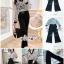 เสื้อผ้าแฟชั่นเกาหลี พร้อมส่ง เสื้อเชิ๊ท กับ กางเกงขายาวผ้าเครป thumbnail 2