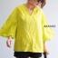 เสื้อเกาหลี พร้อมส่ง เสื้อ งานลินินแท้ thumbnail 2