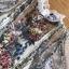 เดรสเกาหลี พร้อมส่ง เดรสผ้าลูกไม้ ทอลายดอกไม้ thumbnail 10