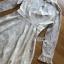 เดรสเกาหลี พร้อมส่ง เดรสผ้าลูกไม้ สีออฟไวท์สไตล์คลาสสิก thumbnail 16