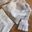 เสื้อผ้าเกาหลี พร้อมส่ง เซ็ตเสื้อลูกไม้ซีทรู กับ กระโปรง thumbnail 13