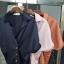 เสื้อเกาหลี พร้อมส่ง เสื้อคอปก ดีไซน์เรียบ หรู thumbnail 15