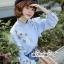 เสื้อเกาหลี พร้อมส่ง เสื้อเชิ้ท ทรงคอตั้งเก๋ๆ thumbnail 13