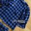 เสื้อผ้าเกาหลี พร้อมส่ง เซ็ตเสื้อและกางเกงลายตารางสีน้ำเงิน-ดำ thumbnail 18