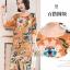 ชุดเดรสเกาหลี พร้อมส่ง Dress ทรงหน้าสั้นหลังยาว คอกลม thumbnail 11