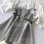 เดรสเกาหลี พร้อมส่ง Mini dress ลายตาราง Scott thumbnail 20