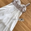 เสื้อผ้าเกาหลี พร้อมส่ง จั้มสูท สายหนาทรงหัวใจ thumbnail 17