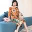 ชุดเดรสเกาหลี พร้อมส่ง Dress ทรงหน้าสั้นหลังยาว คอกลม thumbnail 2