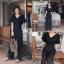 เสื้อผ้าเกาหลี พร้อมส่ง จั้มสูท ขายาว คอวี thumbnail 13