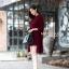 เดรสเกาหลี พร้อมส่ง มินิเดรส กับ เสื้อคลุมตัวยาว thumbnail 5