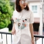 เสื้อเกาหลี พร้อมส่ง เสื้อญี่ปุ่นแท้ งานปักสไตล์ญี่ปุ่น thumbnail 2