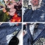 เดรสเกาหลี พร้อมส่ง เดรสผ้าลูกไม้ พิมพ์ลายดอกไม้ thumbnail 8