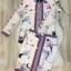 เสื้อผ้าเกาหลี พร้อมส่ง ผ้าเนื้ออย่างดี ซิลผสม polyester thumbnail 5