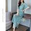 เสื้อผ้าเกาหลี พร้อมส่ง ชุดเซท เสื้อ+กางเกง เซท 2 ชิ้น thumbnail 2