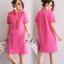 เดรสเกาหลี พร้อมส่ง Dress คอโปโล แขนสั้น thumbnail 5