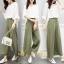 เสื้อผ้าเกาหลี พร้อมส่ง ชุดเซท 2 ชิ้น สีพื้นใส่ง่าย thumbnail 7