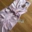 เสื้อผ้าเกาหลี พร้อมส่ง จัมป์สูท ทรงขาบานสีชมพูอ่อน thumbnail 13