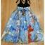 ชุดเดรสเกาหลี พร้อมส่ง เสื้อคอวีสายเดี่ยว กระโปรงเอวสูง thumbnail 12