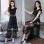 เสื้อผ้าเกาหลี พร้อมส่ง ชุดเซ็ทเสื้อ+กางเกงผ้าลูกไม้ thumbnail 11