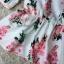 พร้อมส่ง เสื้อผ้าแฟชั่น พิมพ์ลายดอกซากุระสีชมพูหวาน thumbnail 9