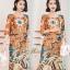 ชุดเดรสเกาหลี พร้อมส่ง Dress ทรงหน้าสั้นหลังยาว คอกลม thumbnail 10