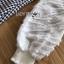 เดรสเกาหลี พร้อมส่ง เดรสผ้าชีฟองสีขาวและผ้าลายฮาวสทูธ thumbnail 15