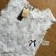 เสื้อเกาหลี พร้อมส่ง เสื้อแขนกุด คอสูงผ้าลูกไม้ thumbnail 17