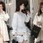 เสื้อเกาหลี พร้อมส่ง เสื้อเชิ๊ท เนื้อผ้าคอตตอนสีขาว thumbnail 7