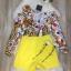 เสื้อผ้าเกาหลี พร้อมส่ง จั๊มสูท ปาดไหล่ข้างนึง thumbnail 7