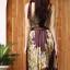 เดรสเกาหลี พร้อมส่ง Dress อัดพลีท ปริ้นลายดอก thumbnail 14