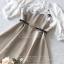 เดรสเกาหลี พร้อมส่ง Mini dress ลายตาราง Scott thumbnail 18