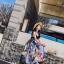 ชุดเดรสเกาหลี พร้อมส่ง ชุด Maxi Dress เกาหลี thumbnail 8